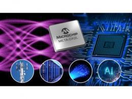 Microchip推出业界最紧凑的1.6T以太网PHY  可为云数据中心、5G和AI提供高达800 GbE的连接性