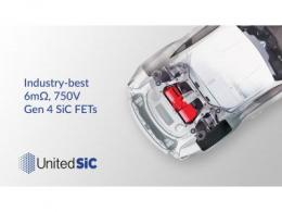 UnitedSiC推出业界最佳6mΩ SiC FET