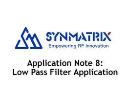 技术分享 | Synmatrix滤波器设计案例:低通滤波器
