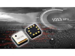 """ROHM开发出防水等级达IPX8的小型高精度气压传感器IC""""BM1390GLV"""""""