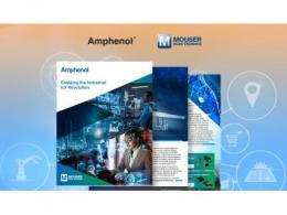 贸泽电子与Amphenol联手发布新电子书  探讨IIoT所需的互连元件、传感器和天线