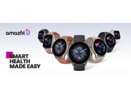 Amazfit GTR 3和GTS 3系列智能手表发布