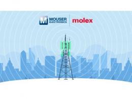 贸泽电子联手Molex推出全新内容网站  探索天线应用和战略