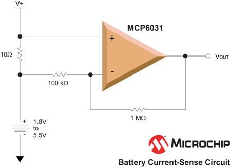 microchip推出低功耗高精度运算放大器