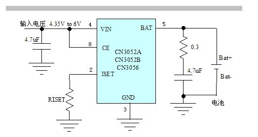 适合便携设备应用的线性锂电池充电管理芯片-模拟/-与