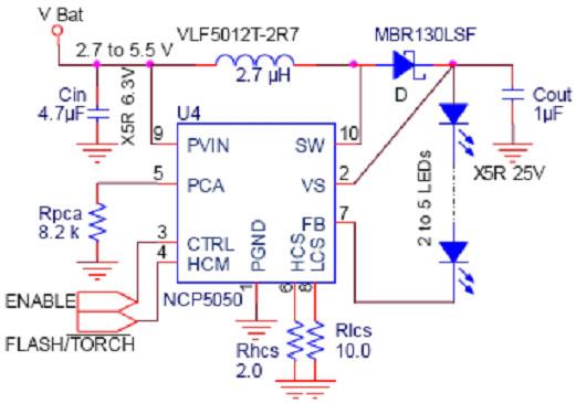 移动电话,pda应用中led照明驱动电路的设计