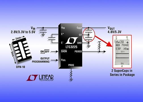 超级电容器充电器ltc