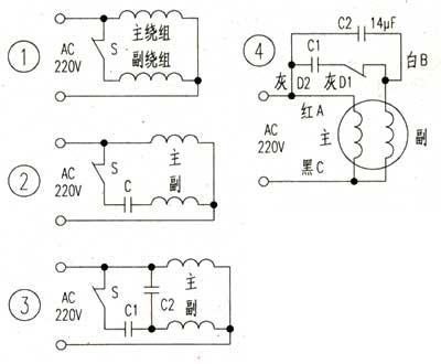 单相异步电动机检修方法