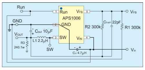 buck开关式dc/dc应用线路设计