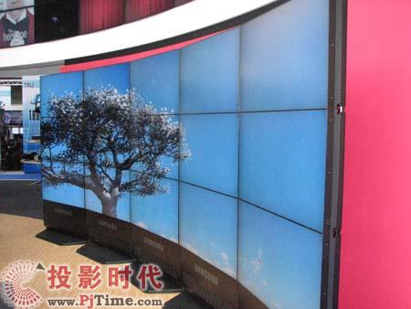 三星展示2009年全新大屏商用显示器产品线