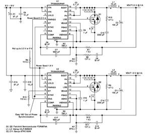 基于TPS54350的红外热像仪电源设计