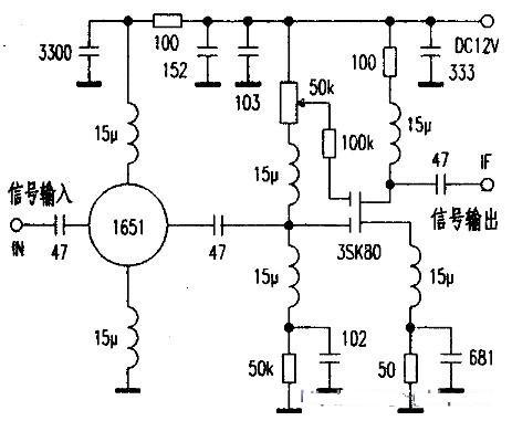 高频信号放大电路的性能比较分析