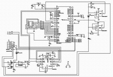 图2 数据采集电路结构原理图