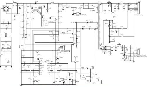 140 w液晶电视电路图