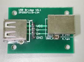 孕龙逻辑分析仪在USB蓝牙接收器上的实际测量