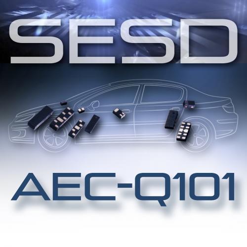 SESD系列器件具有低额定电容,单向:典型值为0.20pF,双向:典型值为0.10pF,可以实现现今最高速接口的信号完整性。