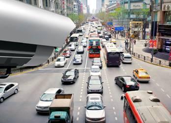 红外 Golden Dragon SFH 4232A 在 2A 高电流下尤为高效,适合交通监控等一般安保应用。