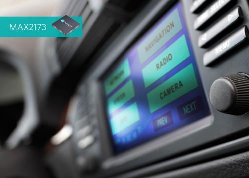通过内置ADC和数字滤波器,MAX2173降低了输出数据速率,从而减轻后端DSP的信号处理负荷