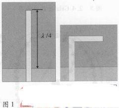 应用于WLAN/WiMAX的三频单极子天线设计