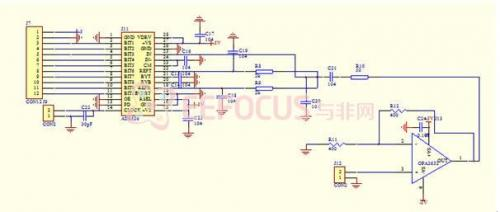 软件数字收音机系统,包括原理图