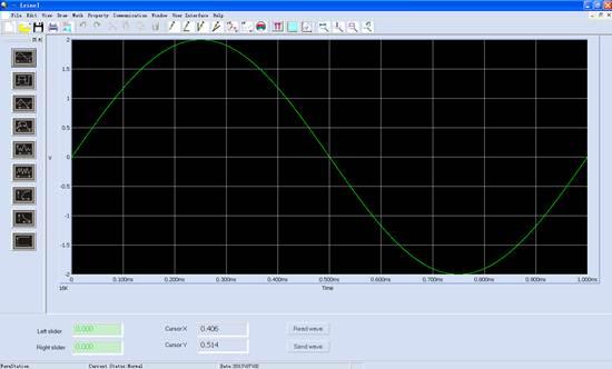 示波器界面_基于siglent示波器,信号源,电源的scpi探索及应用