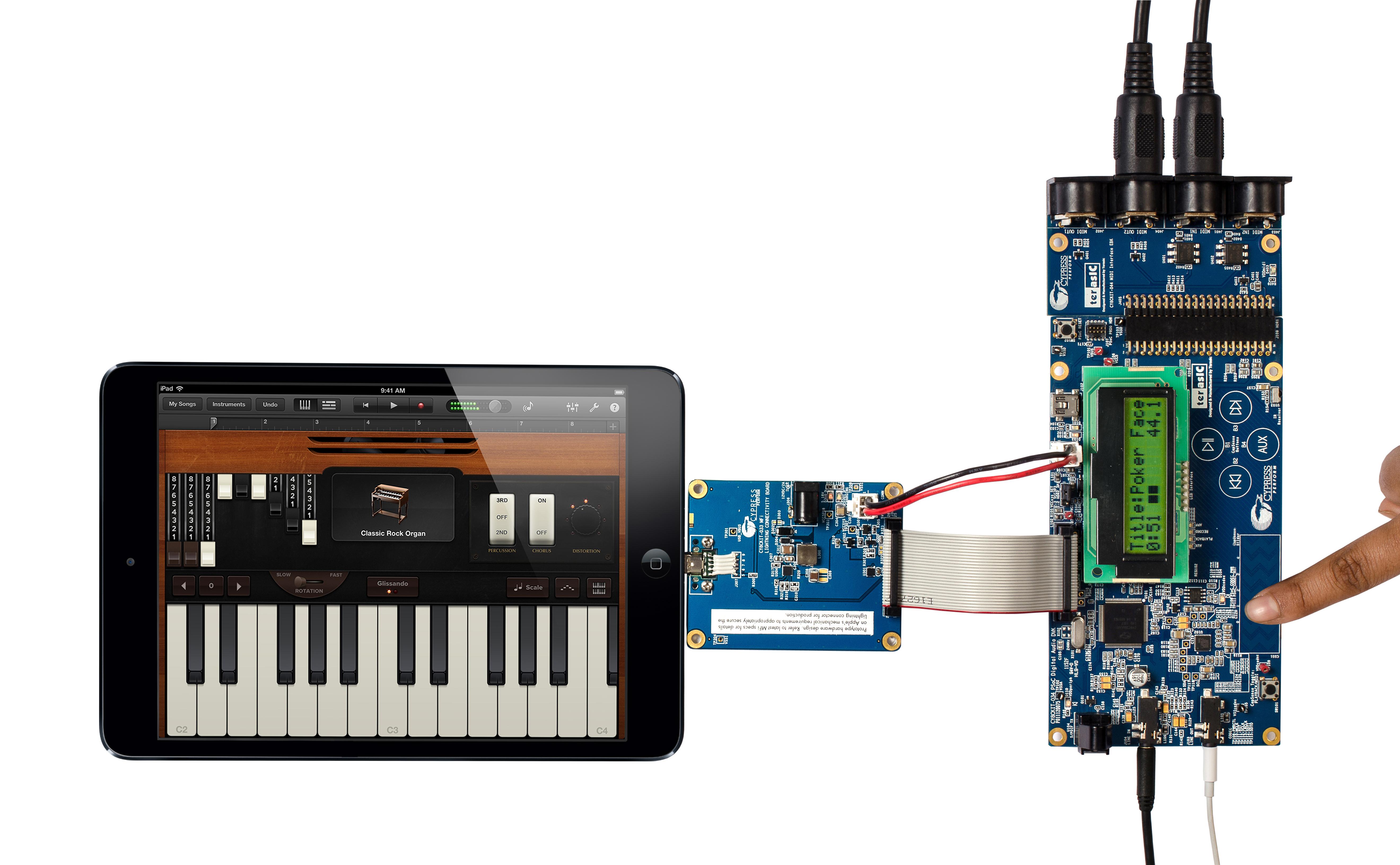 赛普拉斯推出全新开发工具,加速苹果的全数字闪电(lightning)连接器