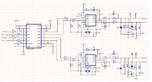 汽车电子电路图 ->基于tms320f2802的实施并网微型太阳能逆变器设计