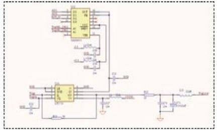 有线电视60v供电器接线图