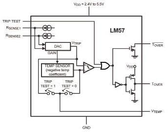 电阻可编程模拟温度传感器设计方案