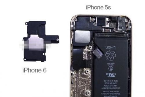 iphone6内部结构一览:和5s没啥区别