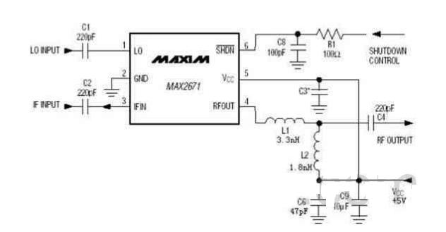 画出混频电路结构图