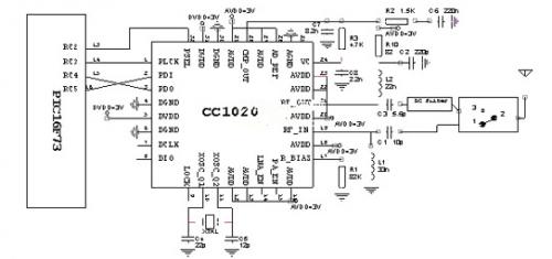 基于射频技术在粮仓无线测试终端应用电路设计