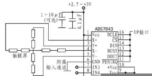 触摸外部控制连接电路设计方案详解