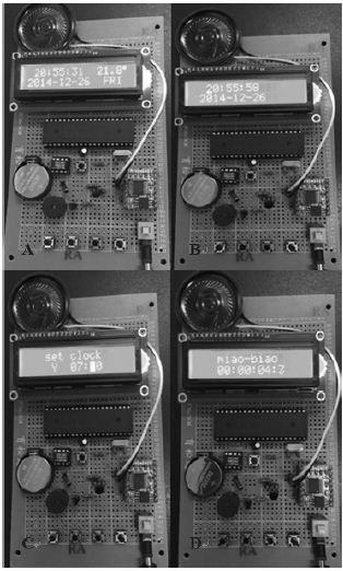 基于单片机的可测温式电子万年历-嵌入式系统-与非网