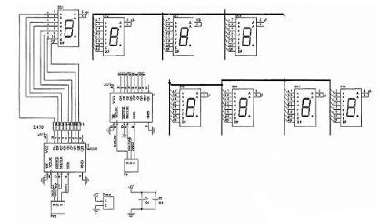 4电磁阀及抽水泵控制电路    当单片机电磁阀(或抽水泵)控制引脚输出图片