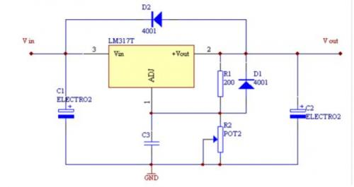 线性直流稳压电源电路图-经典的5款线性稳压电源电路分析 附电路图图片