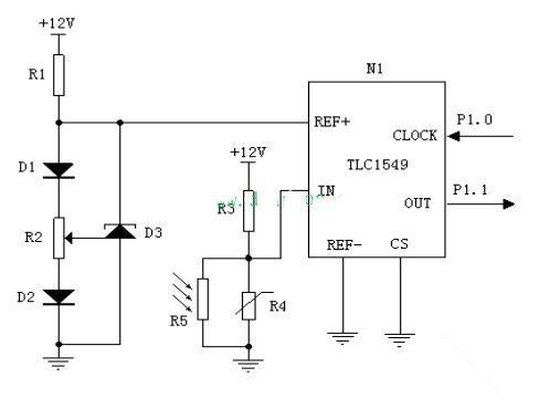 基于at89c51的室内智能照明系统(附详细参考电路图)