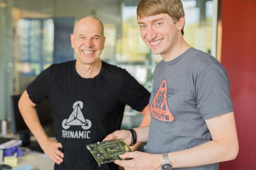 国外芯片技术交流-TRINAMIC推出全球首款集成RISC-V 内核的片载电机驱控芯片系统risc-v单片机中文社区(1)