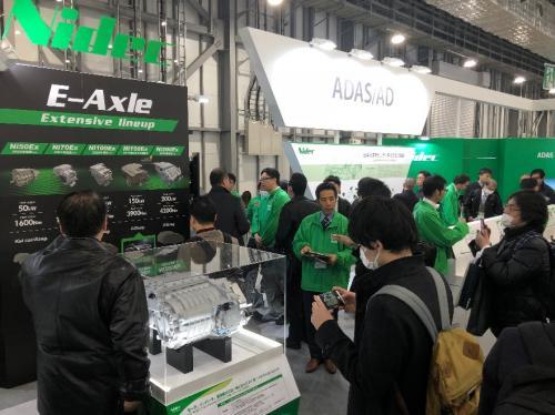 日本电产(Nidec)的电动汽车用驱动马达系统(E-Axle)系列之200kW与50kW两款产品问世