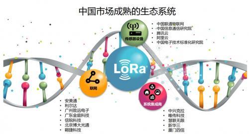 LoRa 联盟会员数量的迅速增长