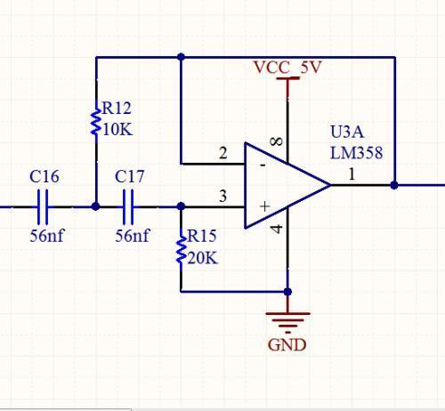 滤波电路电路图