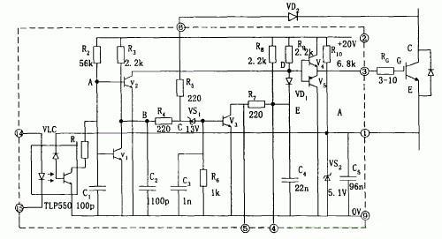 第一种驱动电路 EXB841/840