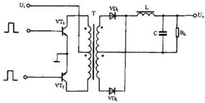 推挽式开关电源工作原理