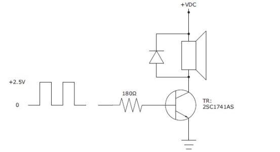 蜂鸣器电路图