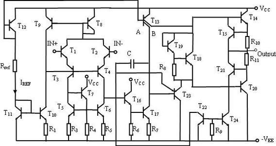 运算放大器电路图