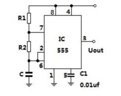 多谐振荡器工作原理图