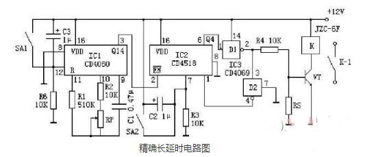 延时器电路图原理