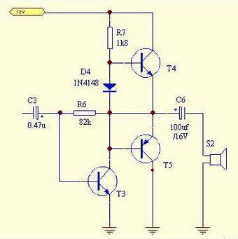 3.简单功放电路原理
