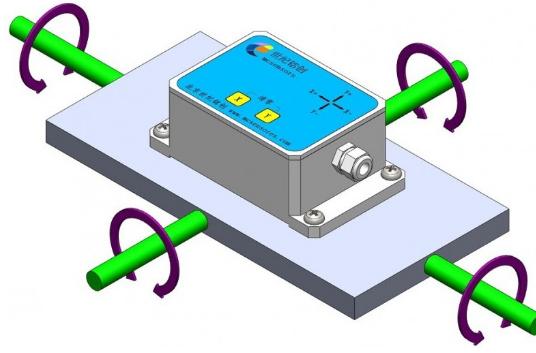 倾角传感器原理图