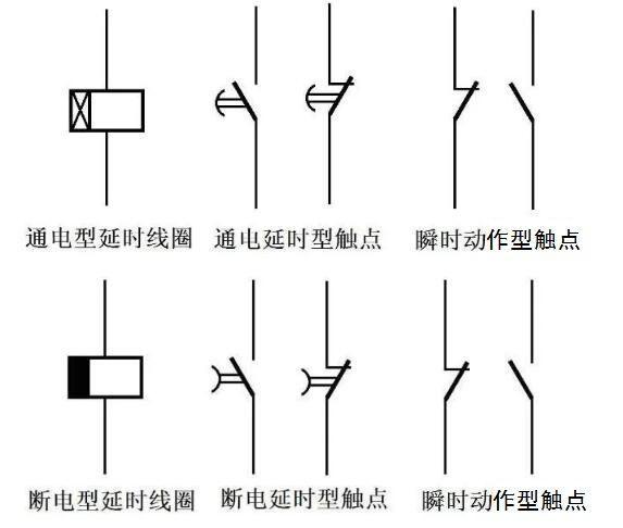 时间继电器符号有哪些